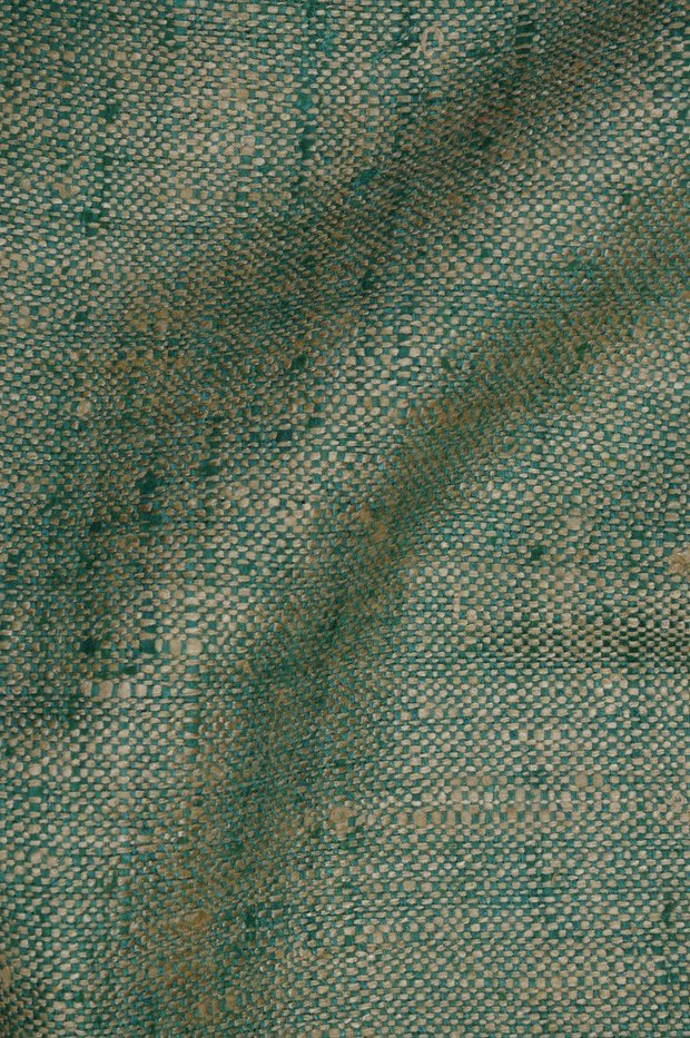 Greengage Silk Linen (Matka) Fabric