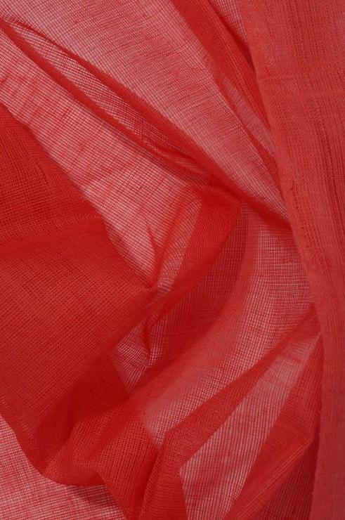 Hibiscus Cotton Voile Fabric