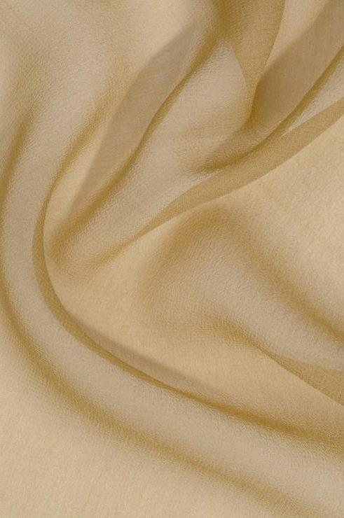 Jojoba Olive Silk Georgette Fabric
