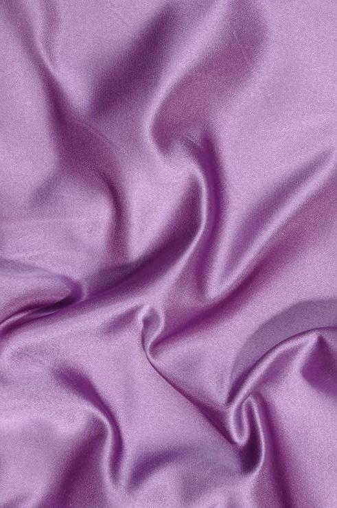 Lavender Double Face Duchess Satin Fabric