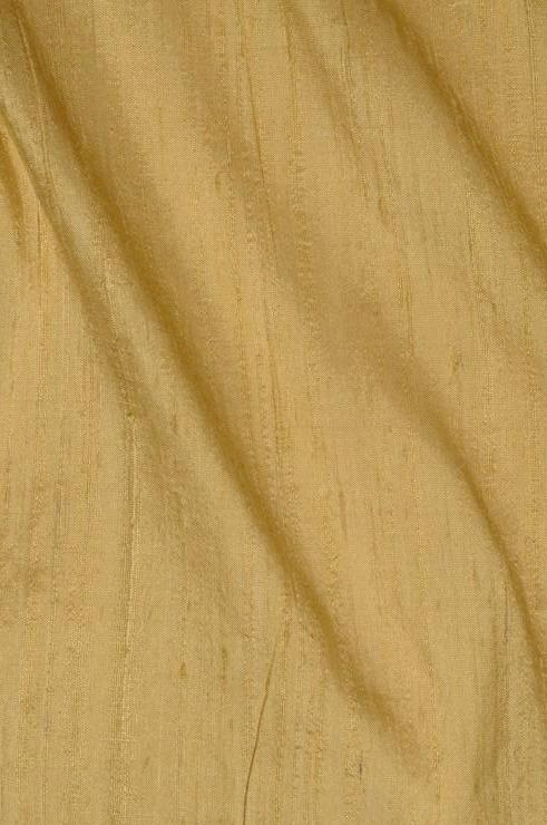Light Gold Dupioni Silk Fabric