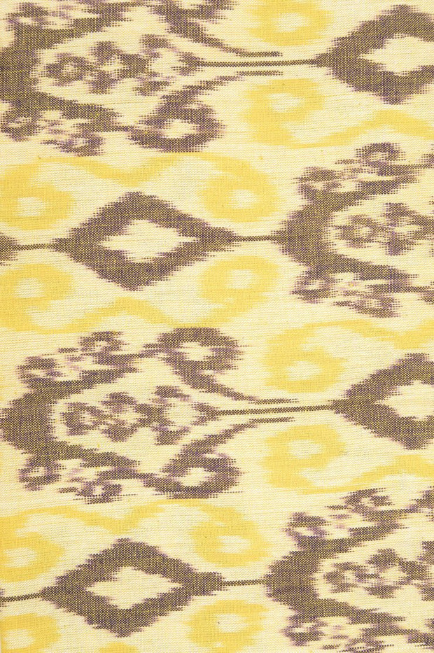 Mauve Cotton Ikat 067 Fabric