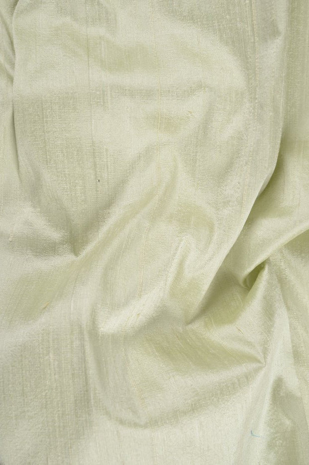 Mint Green Dupioni Silk Fabric