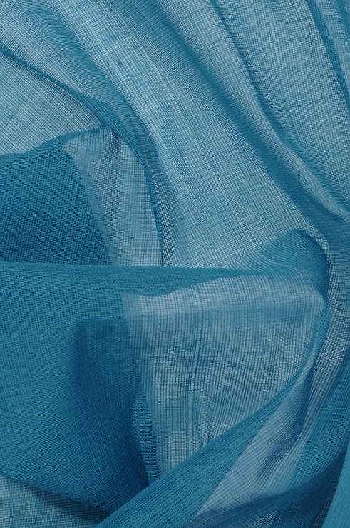 Navigate Cotton Voile Fabric