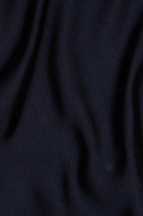 Navy Silk Faille Fabric