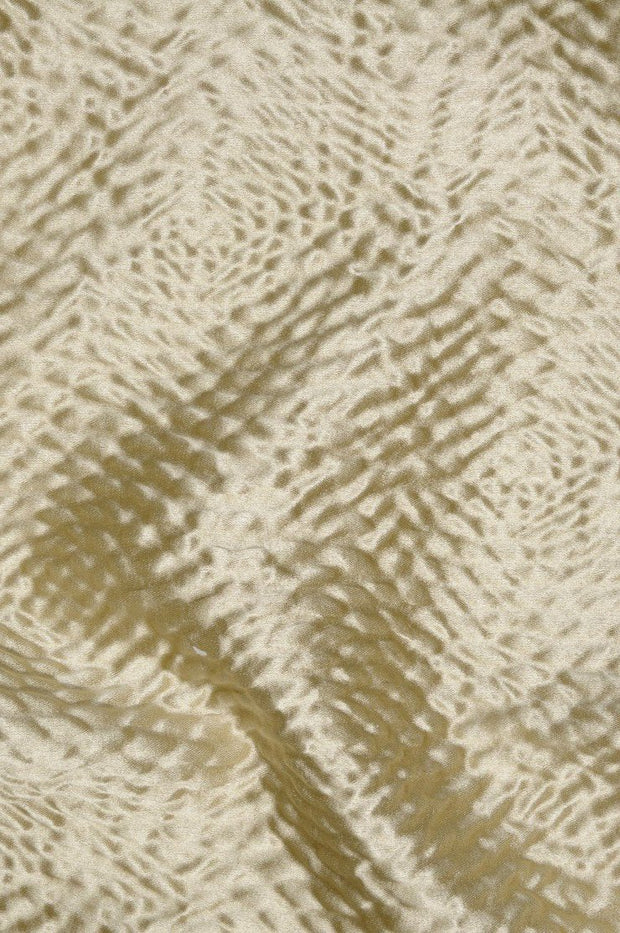 Oyster Hammered Satin Fabric