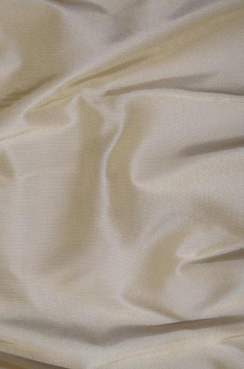 Oyster Gray Heavy Taffeta Silk Fabric
