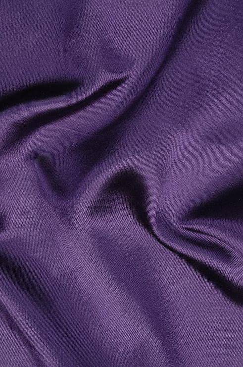 Patrician Purple Silk Zibeline Fabric