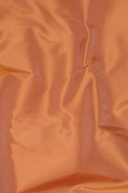 Peach Blush Taffeta Silk Fabric