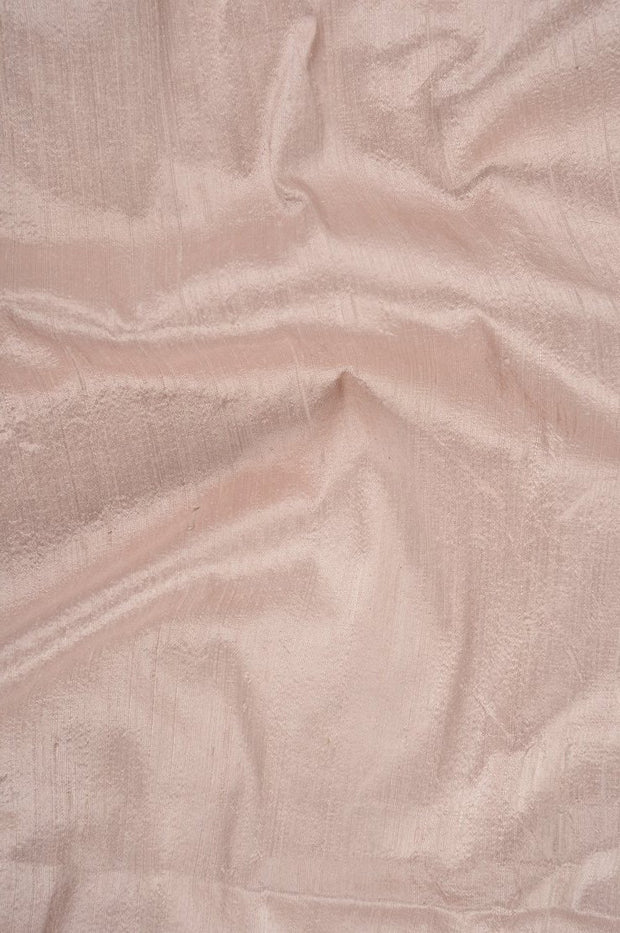Peach Whip Dupioni Silk Fabric