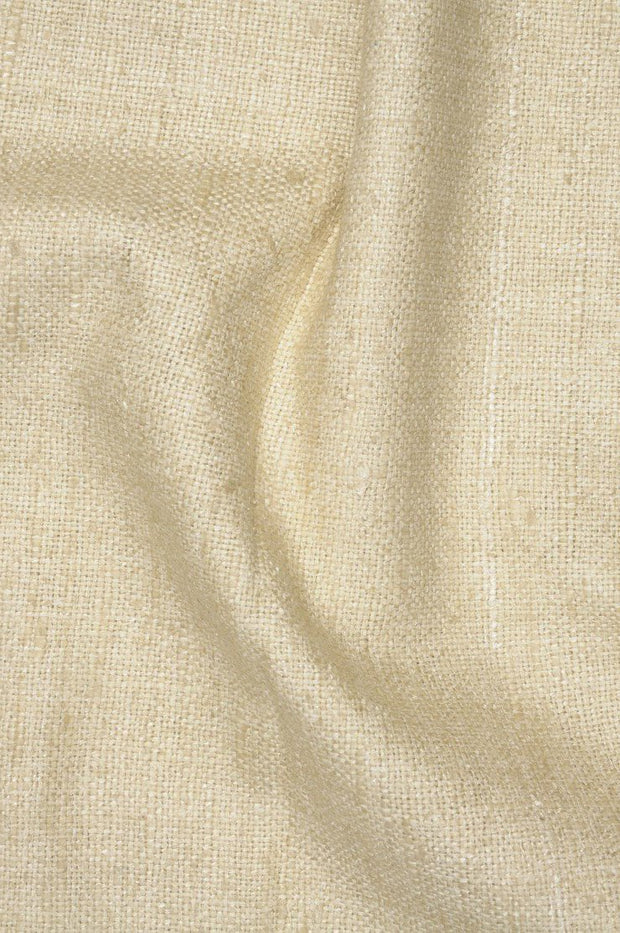 Pebble Silk Linen (Matka) Fabric