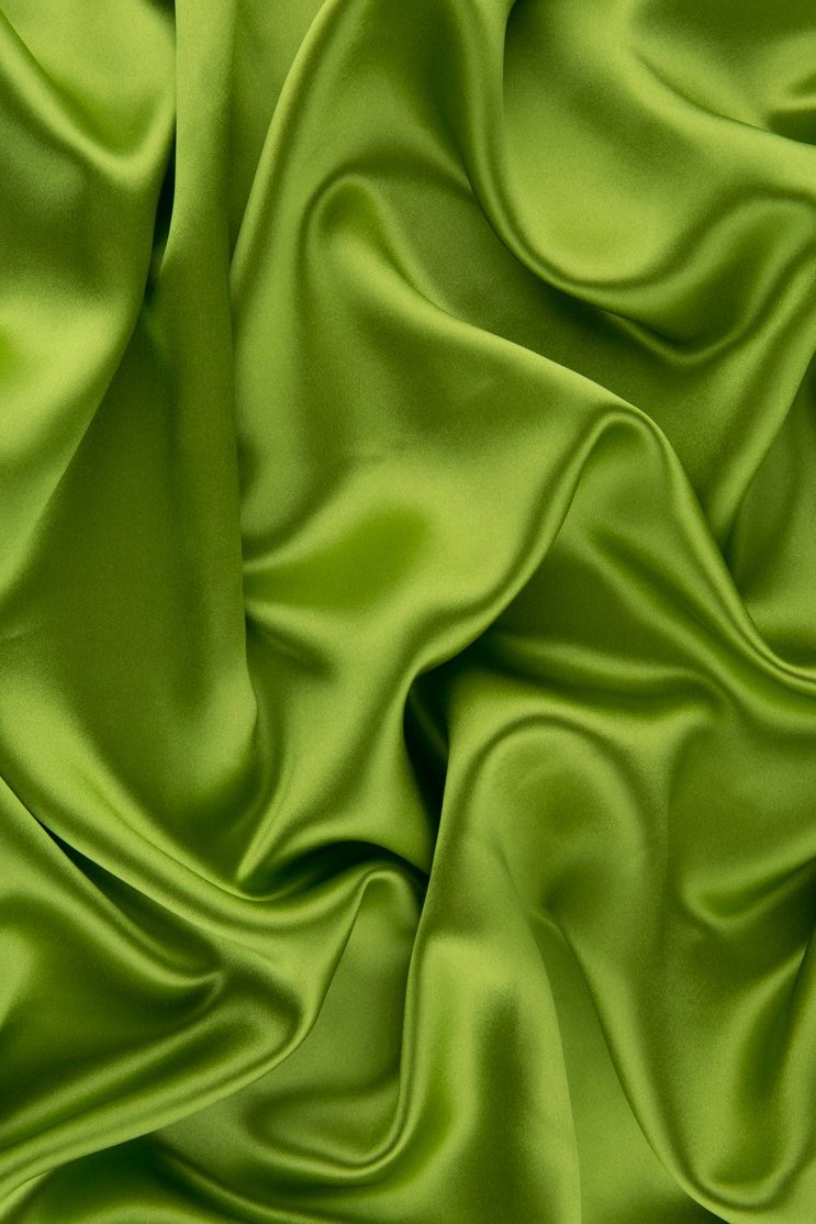 Peridot | Fabric | Silk