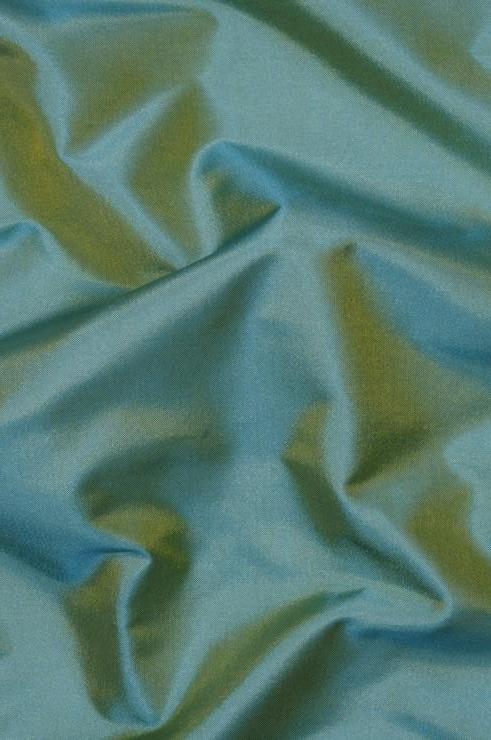 Pine Green Light Taffeta Silk Fabric