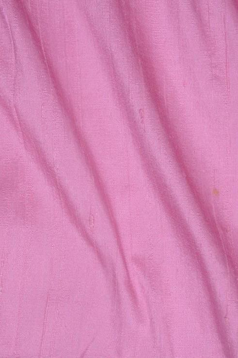 Pink Carnation Dupioni Silk Fabric