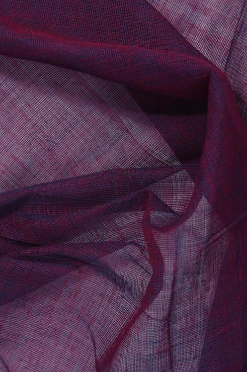 Pink Purple Cotton Voile Fabric