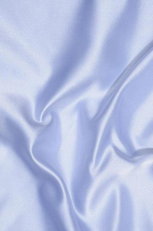 Powder Blue Double Face Duchess Satin Fabric