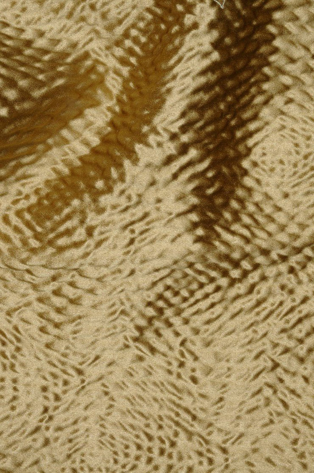 Prairie Sand Hammered Satin Fabric