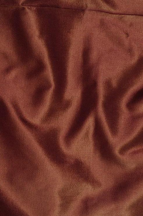 Purple Gold Taffeta Silk Fabric