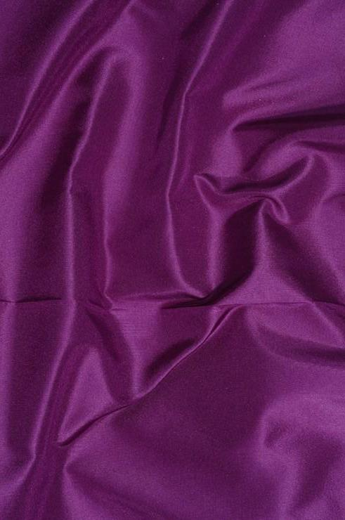 Purple Magenta Taffeta Silk Fabric