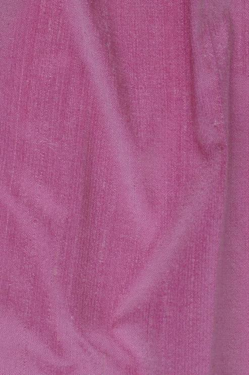 "Raspberry Rose Pink Silk Shantung 54"" Fabric"