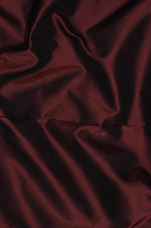 Rasberry Wine Taffeta Silk Fabric