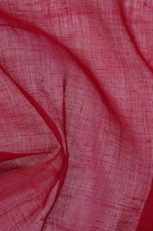 Rasberry Wine Cotton Voile Fabric