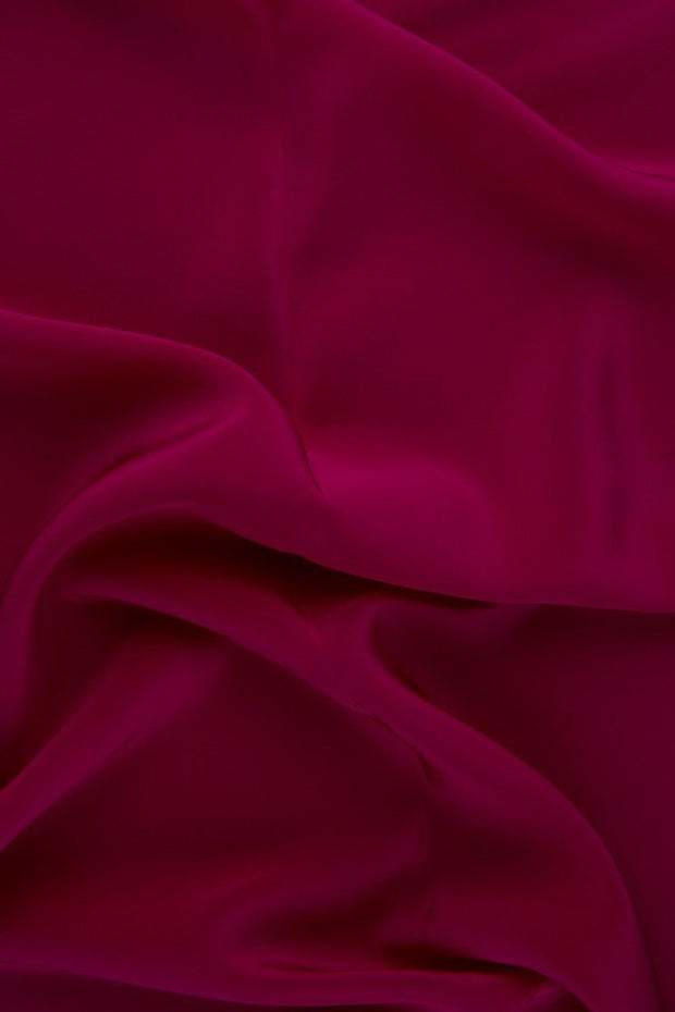 Rose Silk Crepe de Chine Fabric