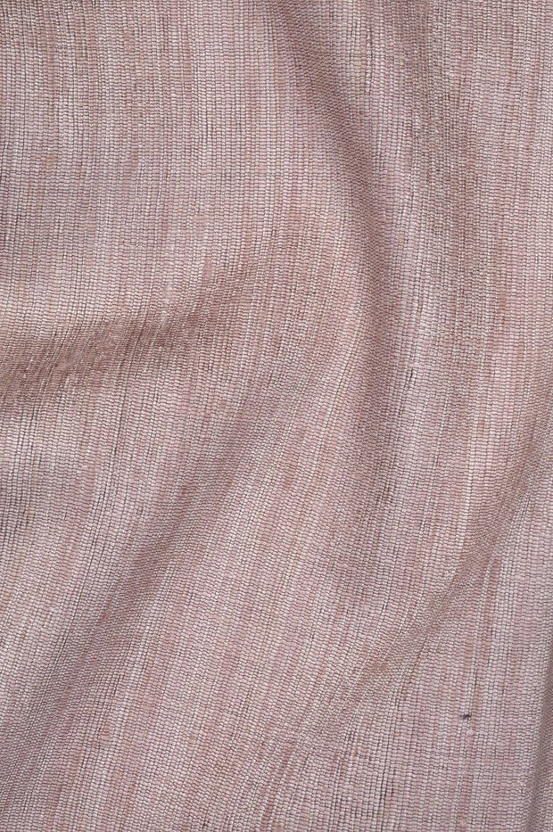 Rose Katan Matka Silk Fabric