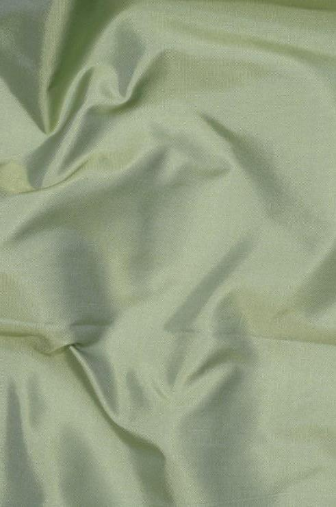 Sage Green Light Taffeta Silk Fabric