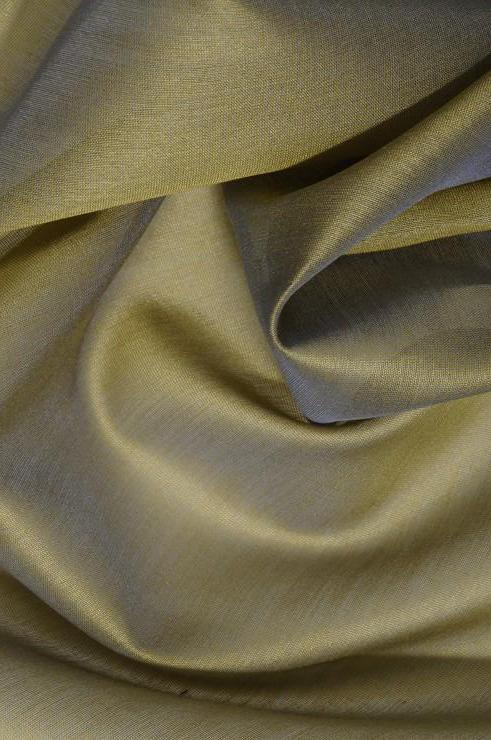 Sage Green Cotton Silk Fabric