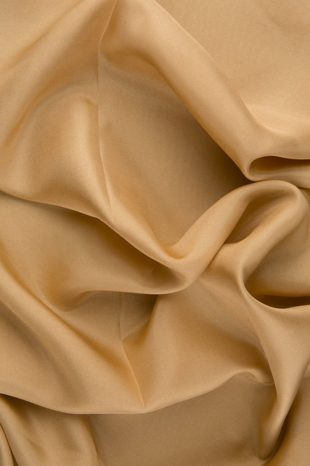 Sand Habotai Silk Fabric