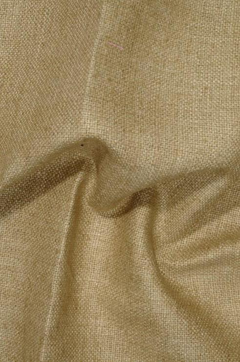 Sandy Taupe Silk Linen (Matka) Fabric