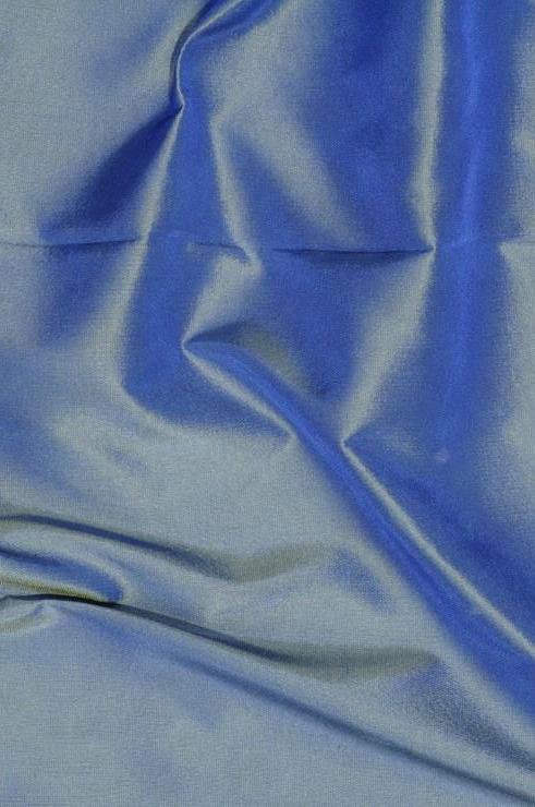 Sea Blue Light Taffeta Silk Fabric