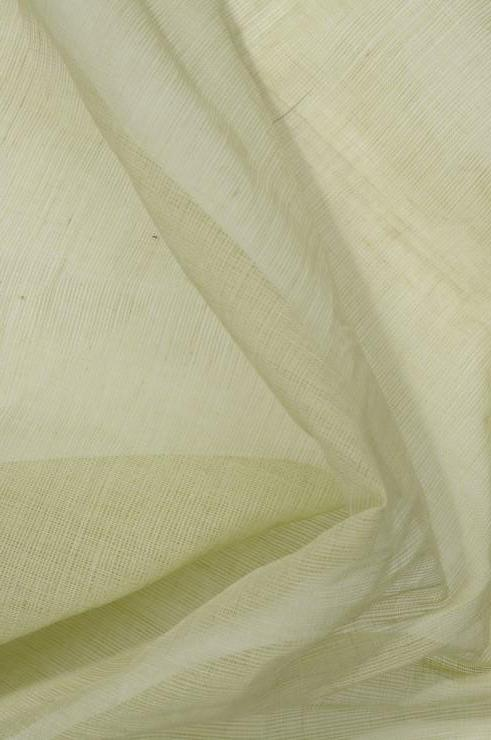 Shadow Lime Cotton Voile Fabric