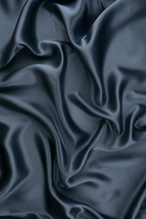 Stonewash Charmeuse Silk Fabric