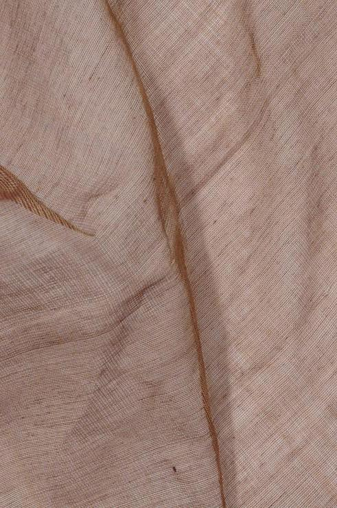 Tawny Brown Cotton Voile Fabric
