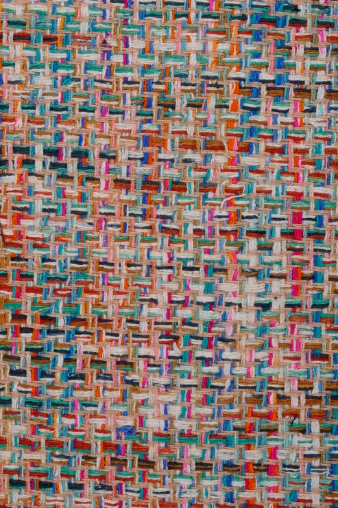 Multi-Color Silk Tweed 1 Fabric