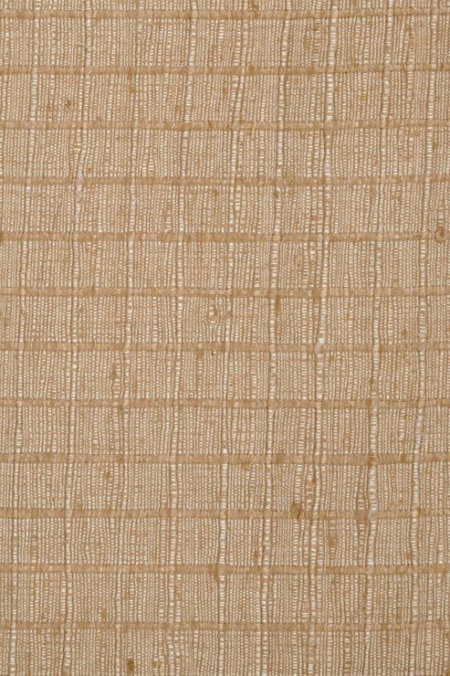 Wheat Silk Tweed Fabric