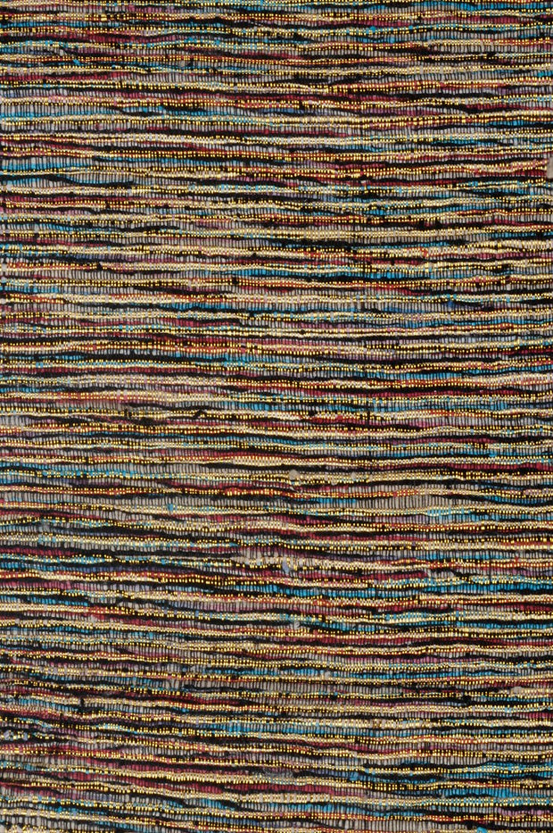 Multi-Color Gold Silk Tweed 27 Fabric