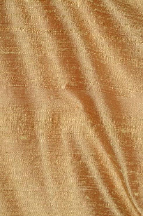 Wheat Dupioni Silk Fabric
