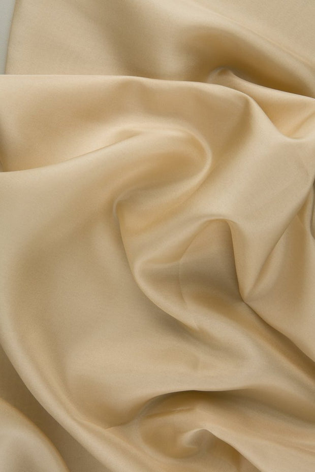 Wheat Habotai Silk Fabric