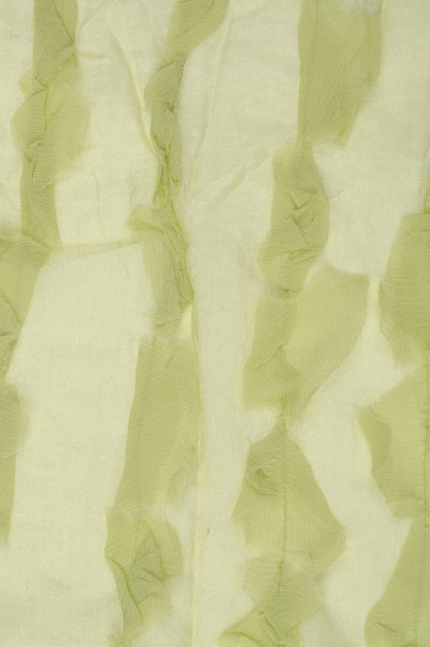 Whisper Green Silk Chiffon Petal 600 Fabric