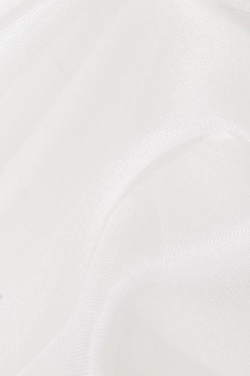 White Silk Organza Fabric