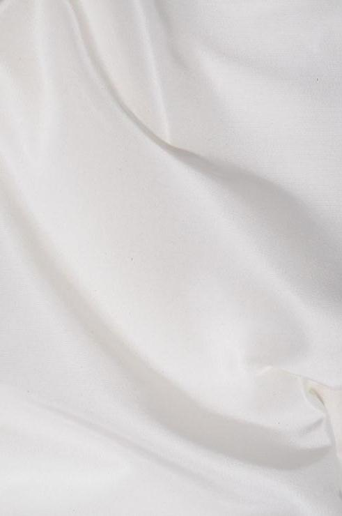 White Heavy Taffeta Silk Fabric