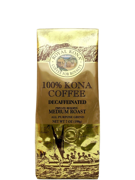100% Kona Coffee DECAF 7oz