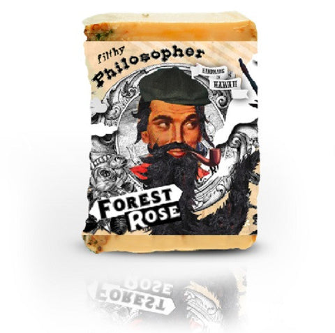 Filthy Philosopher Cedar Rose Soap Bar