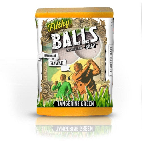 Filthy Balls Golfer - Turmeric Tangerine Soy Protein