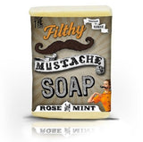 Filthy Mustache Mint Rose Soap Bar
