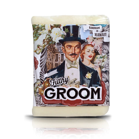 Filthy Groom Peppermint Cocoa Butter Soap Bar
