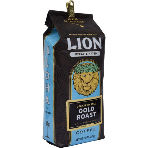 Lion Gold DECAF 10 oz